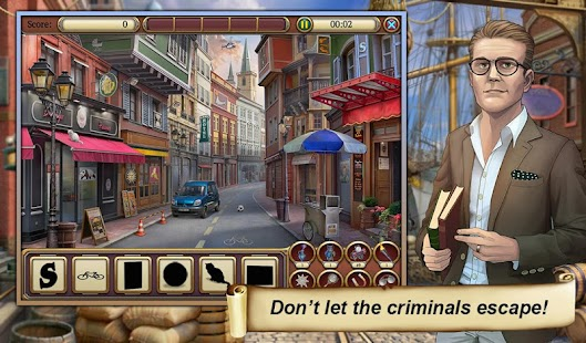 3 Hidden Object Time Crimes Case App screenshot