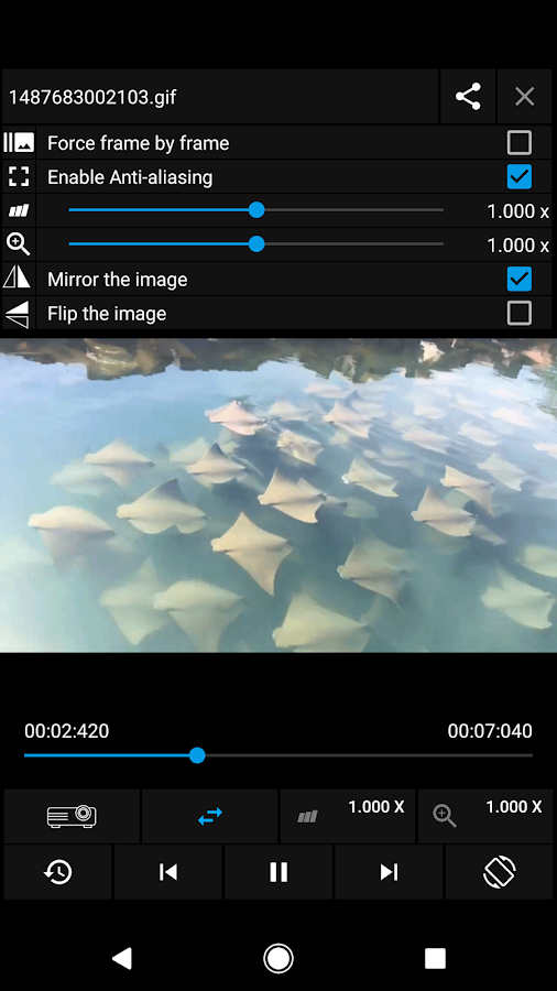 Gif Player - OmniGif Pro Screenshot 1