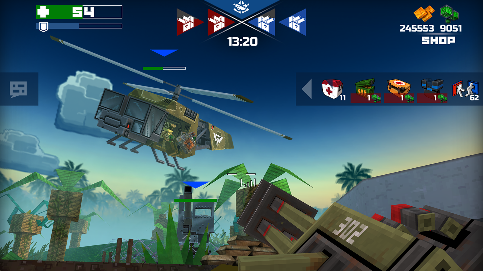 Pixelfield - Best FPS MOBA Strategy Game Screenshot 4