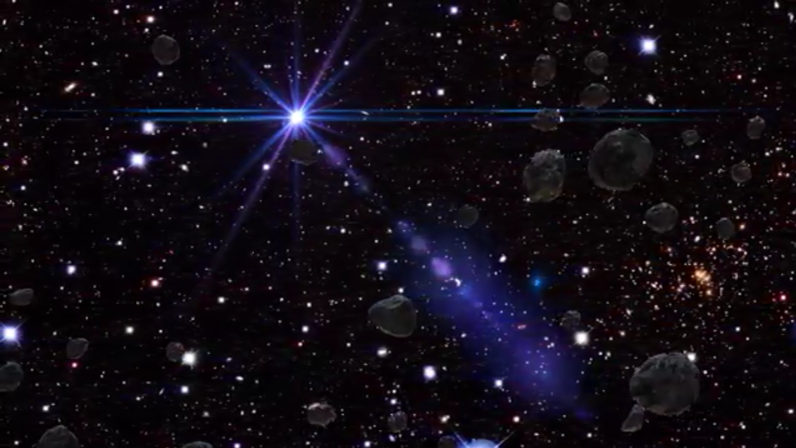 Asteroids Live Wallpaper Screenshot