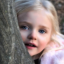 Princess Peek-a-Boo by Cheryl Korotky - Babies & Children Child Portraits
