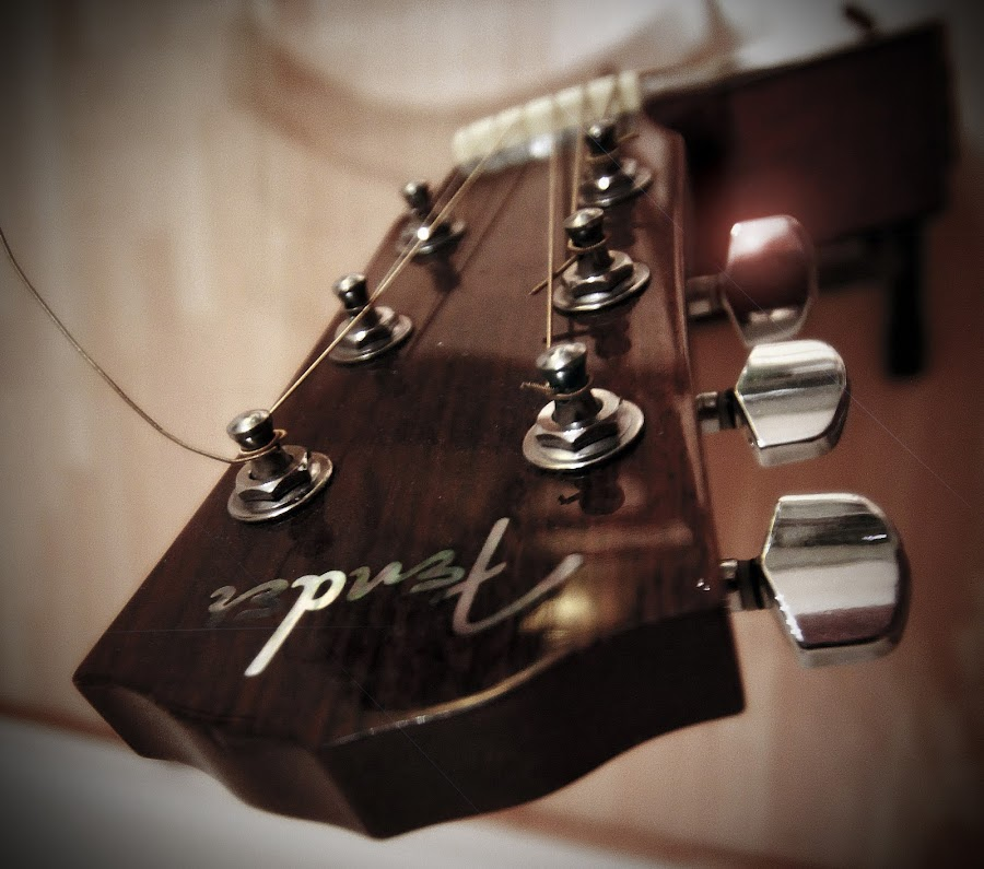 fender III by Almas Bavcic - Artistic Objects Other Objects ( music, craft, fender, art, guitar )