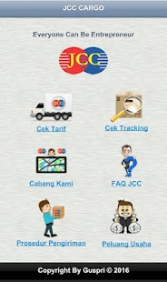 JCC Cargo Ekspedisi - screenshot