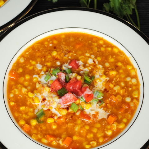 Spicy Summer Corn Soup