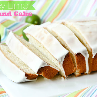 Key Lime Pound Cake With Key Lime Glaze Recipes