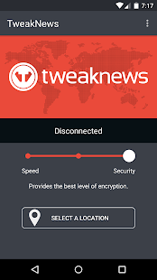 TweakNews VPN - screenshot
