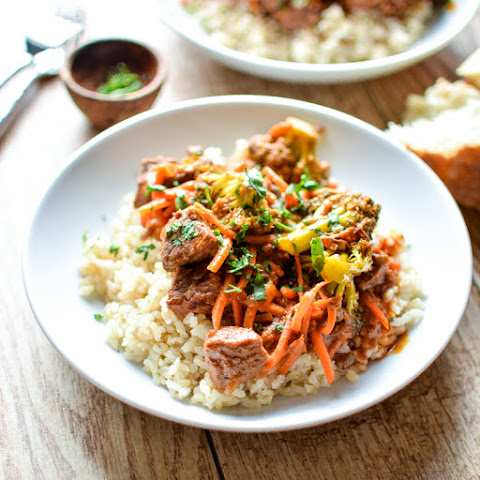 Slow Cooker Thai Beef Stew