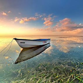 Reflection by Agoes Antara - Transportation Boats