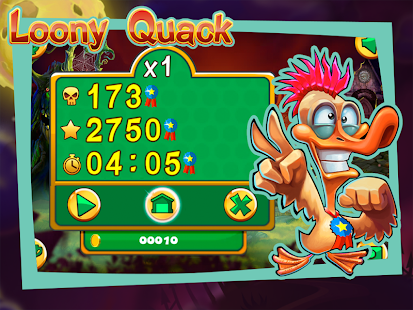 Loony Quack Screenshot