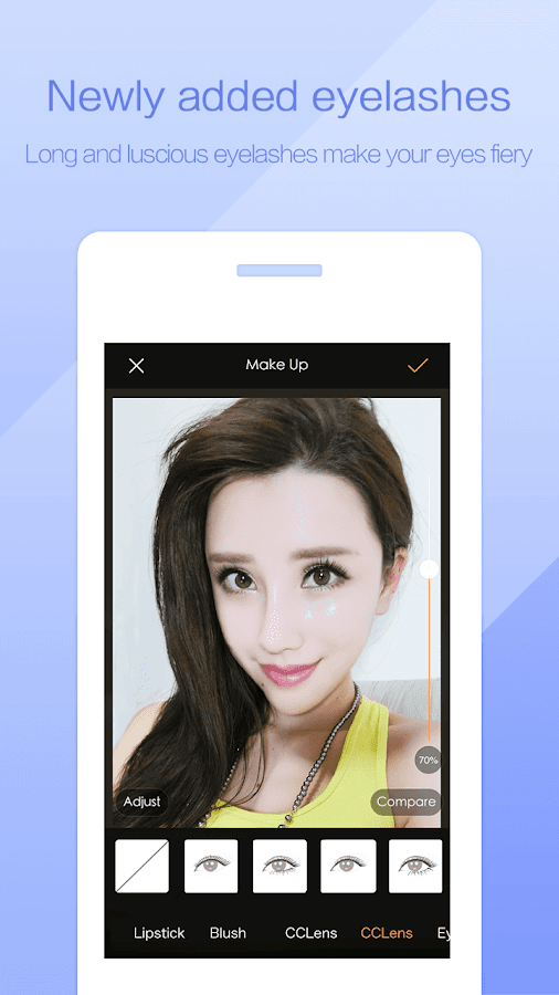 PhotoWonder: Pro Beauty Photo Editor&Collage Maker Screenshot 2