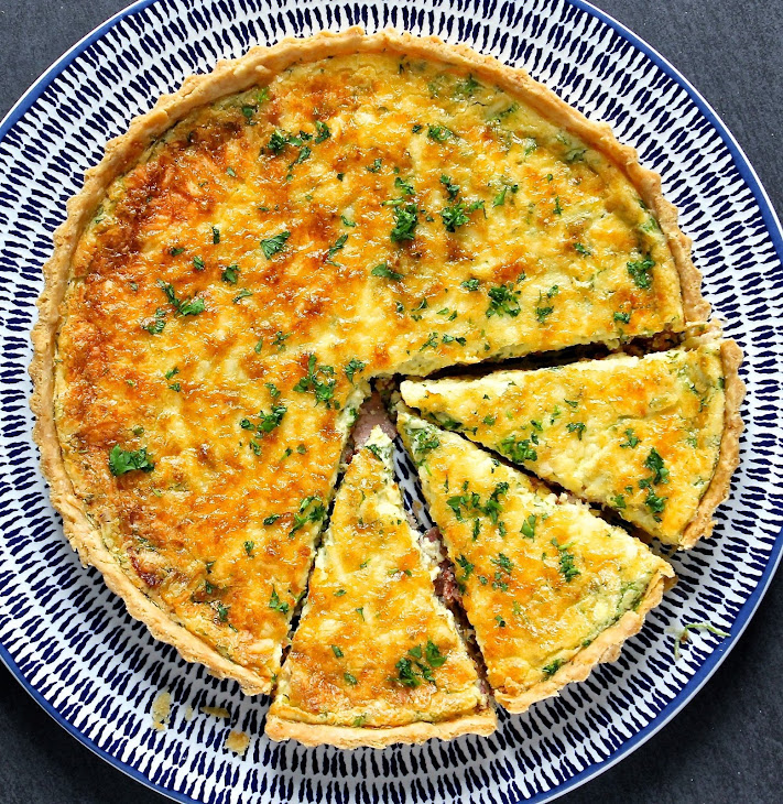 Zucchini, Bacon, And Gruyere Quiche Recipes — Dishmaps