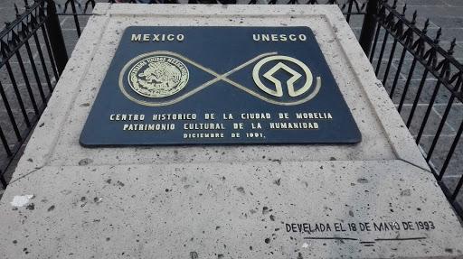 Placa De La Unesco