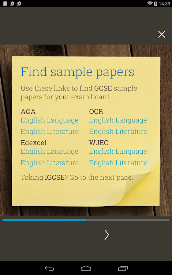GCSE English Revision Guide Screenshot 13