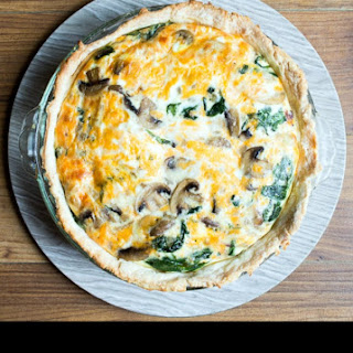 Bacon Spinach Mushroom Quiche Recipes