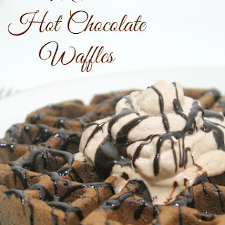 Mexican Hot Chocolate Waffles