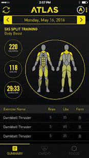 Atlas Workout Tracker for Wear