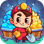 Idle Miner: Gold Mine Tycoon - Money Clicker Game Icon