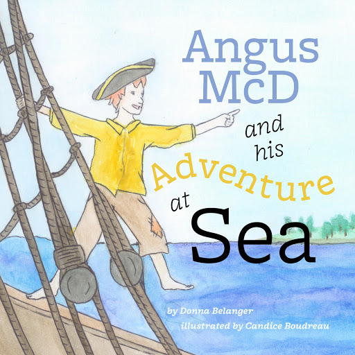Angus McD and his Adventure at Sea cover