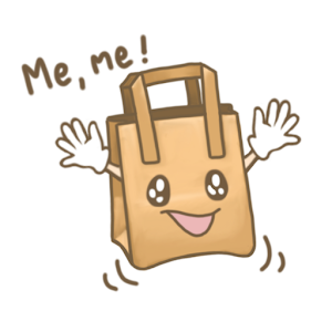 Choose the Paper Bag Sticker Pack by Pomelo Tree For PC