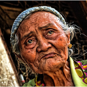 My Old Age by Teguh Gogo - People Portraits of Women
