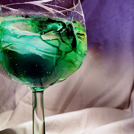 Creme de Menthe by Carrie Cadenas - Food & Drink Alcohol & Drinks ( green glass creme )