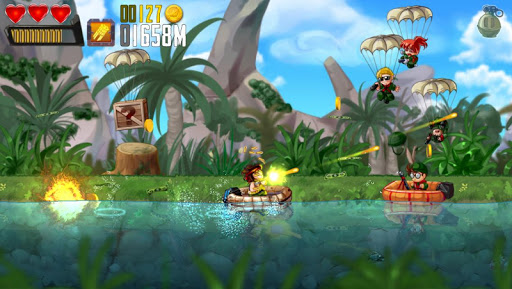 Ramboat: Hero Shooting Game Screenshot