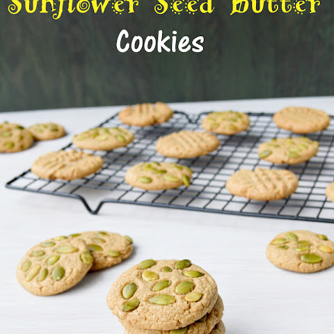 Sunflower Seed Butter Cookies (vegan)