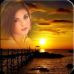Sunset Photo Frame Icon