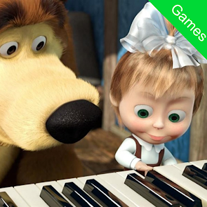 Masha and Bear : Piano Magic Tiles Game For Kids For PC / Windows 7/8/10 / Mac – Free Download