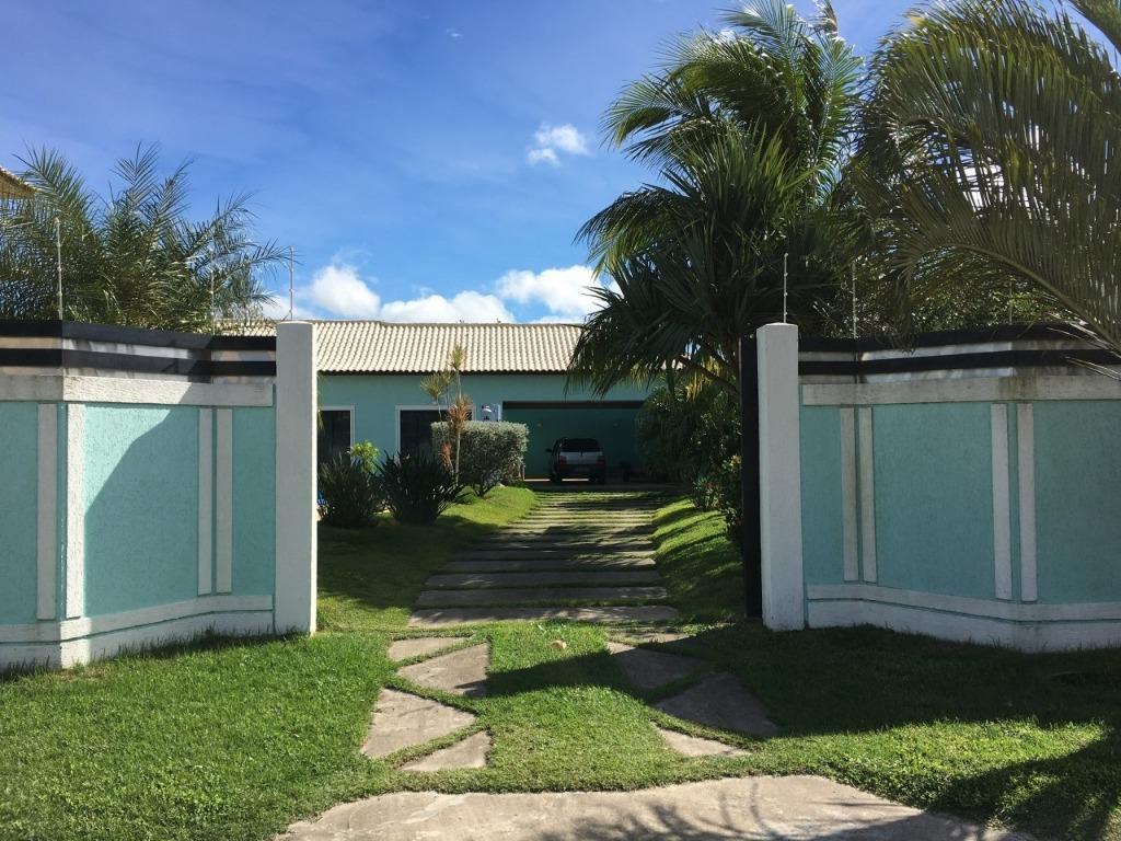 Ótima Casa com 4 Qtos / 2 Stes / Piscina à venda, 901 m² - Pontinha - Araruama/RJ
