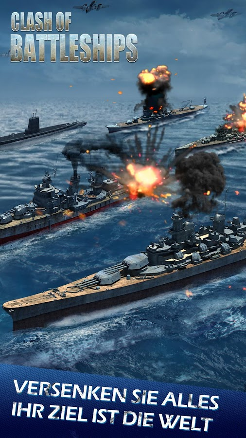 Clash of Battleships - Deutsch Screenshot 9