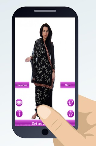 android indian sari dresses Screenshot 6