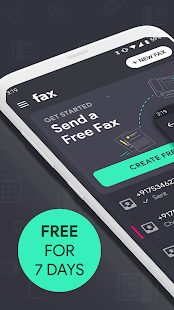 Fax App: Send fax from phone, receive fax document for pc