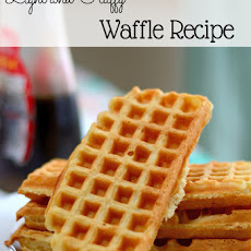 Light and Fluffy Waffle