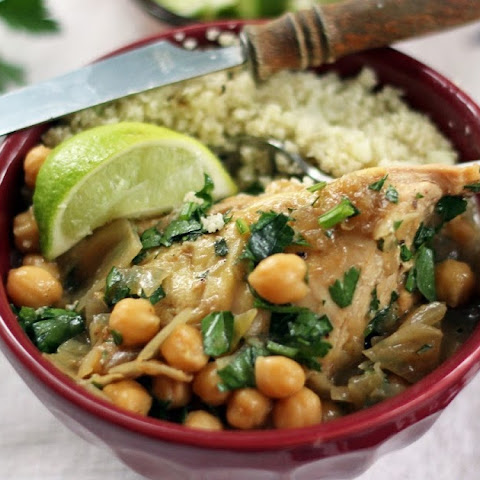 Chickpea and Chicken Stew