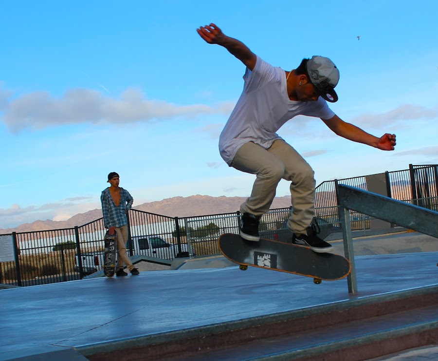 Skatepark by Jay Woolwine Photography - Sports & Fitness Skateboarding ( skateboarding, skate, skateboard, ollie, jump )