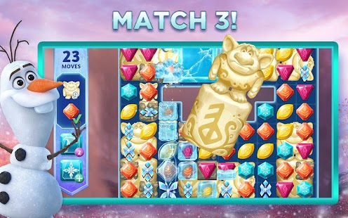 Disney Frozen Adventures – A New Match 3 Game