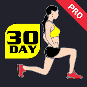 Cover art 30 Day Lunge Challenge Pro