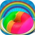 Game DIY Rainbow Donut Maker Salon APK for Kindle