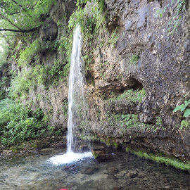 Falling Springs  by Shelley Deckard - Nature Up Close Water