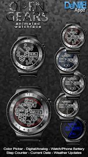 Open Gears HD Watch Face