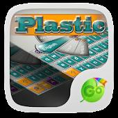 Plastic GO Keyboard Theme APK for Lenovo