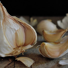 Garlic by Valentina Masten - Food & Drink Fruits & Vegetables