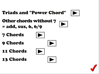 Chords, chords and more chords