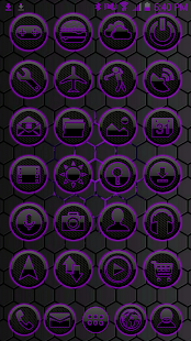 ICON PACK DARK SPACE 2 PURPLE - screenshot