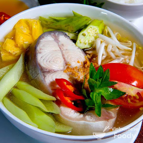Vietnamese Sour Fish Soup (Canh Chua Ca Recipe)