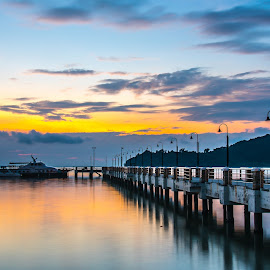 Pantai Pulau Jerejak by Lim Keng - Landscapes Sunsets & Sunrises
