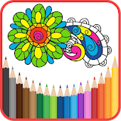 App Coloring Book for Adults HOLI APK for Kindle