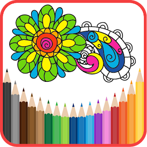Coloring Book for Adults ???? HoliColoring