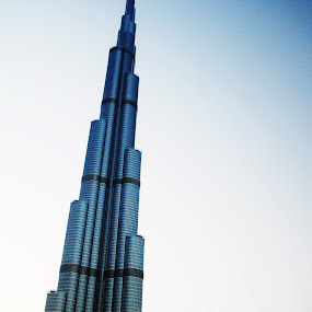 Burj Khalifa by Scott Lorenzo - Buildings & Architecture Office Buildings & Hotels ( building, color, architecture )